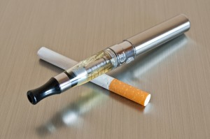 vape and cigarette